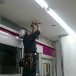 【仙台市】商業施設 防犯カメラ設置工事