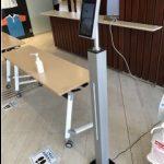 【仙台市】体温測定&顔認証AIカメラ納品設置しました
