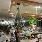 【盛岡市】大型書店 防犯カメラ設置工事